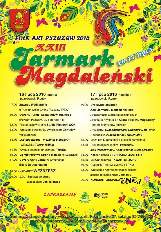 XXIII Jarmark Magdaleński w Pszczewie