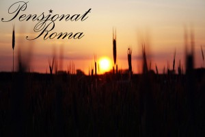 Zachód słońca - Pensjonat Roma